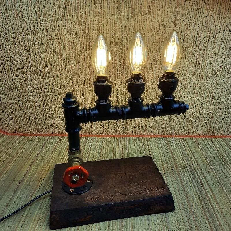 Toru lamp  käsitöö  personaalse graveeringuga