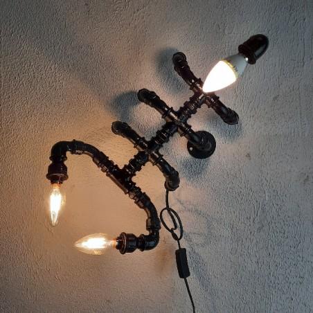 Käsitöö toru lamp  skorpion personaalse graveeringuga