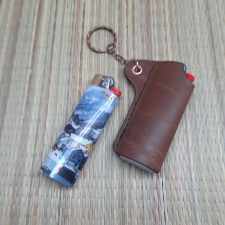 Võtmehoidja tulemasina tasku nahast personaalse graveeringuga