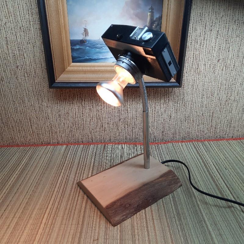 Käsitöö lamp fotokaamera