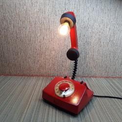 Лампа ручной работы телефон