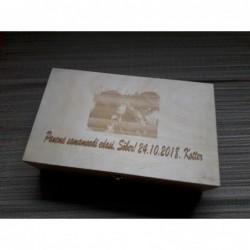 Деревянная чайная коробка с...