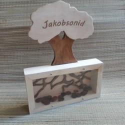 Денежное дерево копилка с...