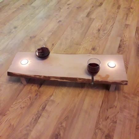 Puidust  vanni alus laud personaliseeritud graveeringuga