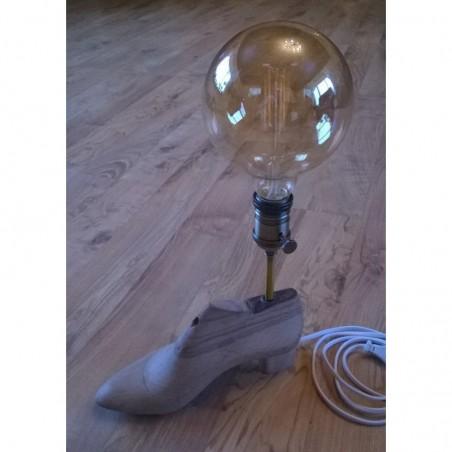 Käsitöö lamp puidust king
