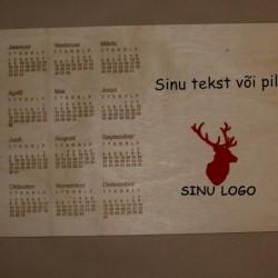 Деревянный календарь с...