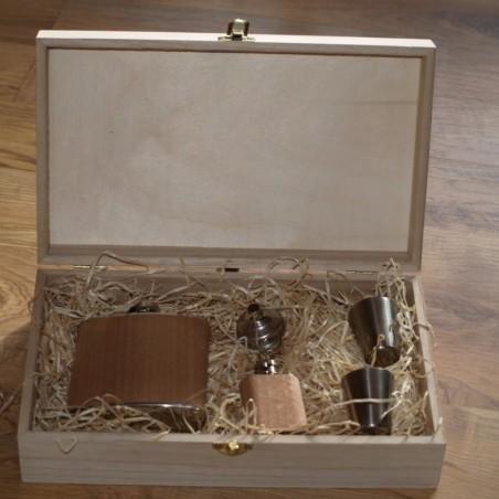 Kinkekarp puidust 27,5 x 16,5 x 7 cm personaalse graveeringuga