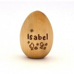 Деревянное пасхальное яйцо...
