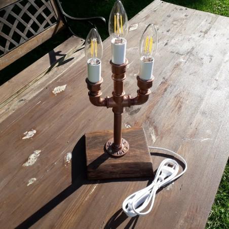 Käsitöö lamp  personaalse graveeringuga