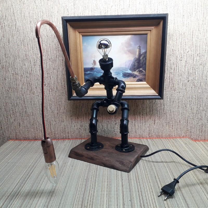 Käsitöö lamp  kalamees