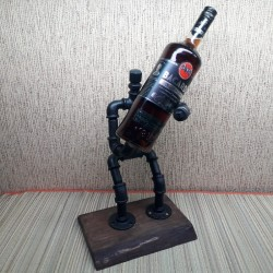 Pipe bottle holder